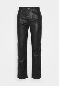 Serge Pariente - Leather trousers - black - 0