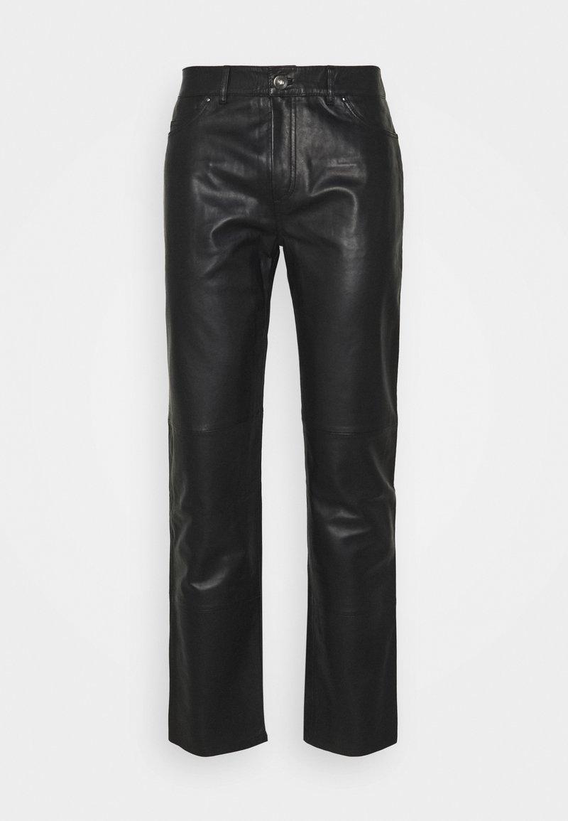 Serge Pariente - Leather trousers - black