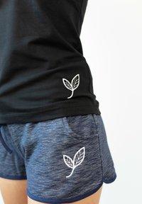 Biyoga - SHORTS -GOTS- BASIC DAMEN - Sports shorts - blau - 1