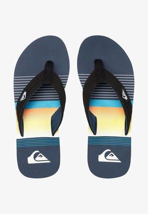 MOLOKAI LAYBACK - Pool shoes - black/blue/black