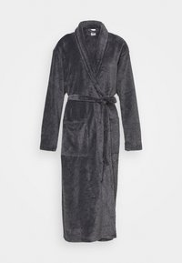 FLUFFY ROBE - Dressing gown - black