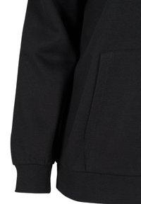 Active by Zizzi - Zip-up sweatshirt - black - 5