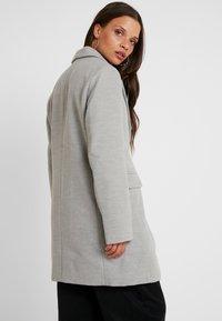 Even&Odd Petite - Classic coat - mottled light grey - 2