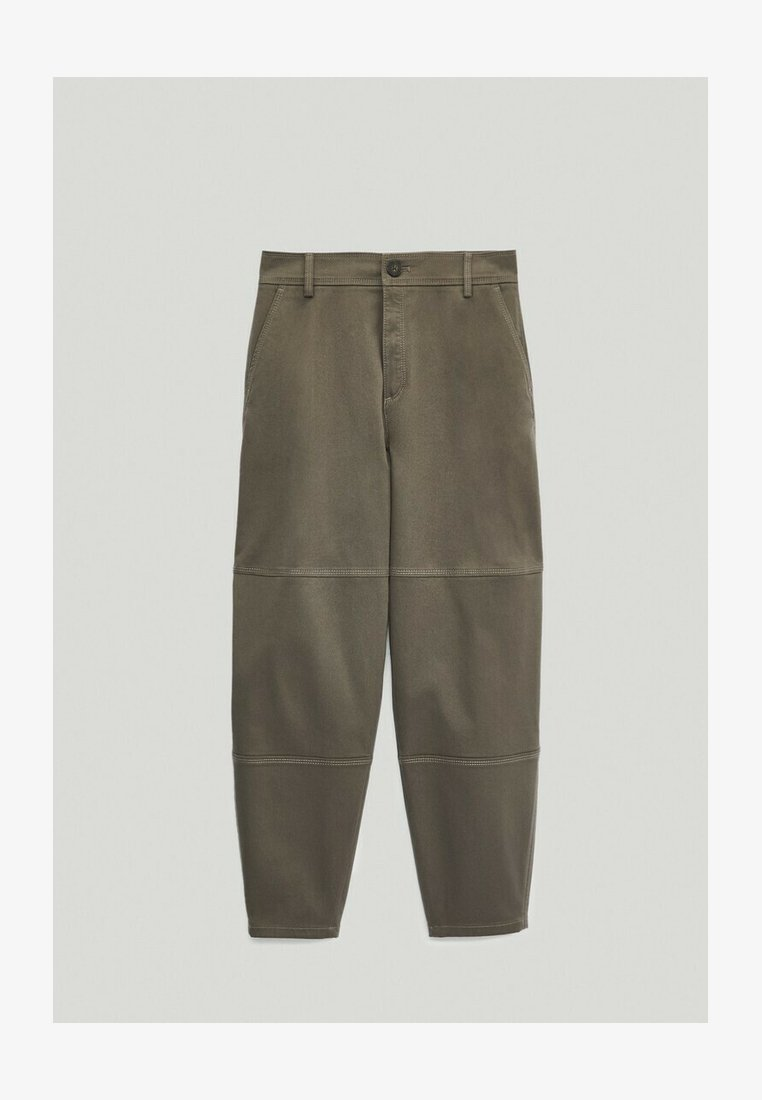 Massimo Dutti - Pantalon classique - green