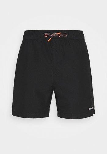 MELSTONE - Outdoor shorts - black