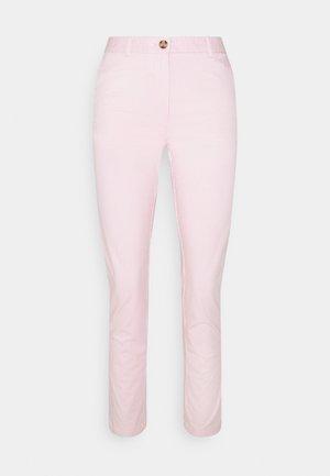 TICK STRIPE  - Pantalones chinos - pink