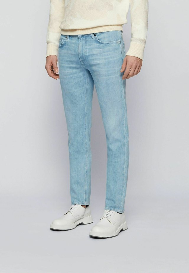 Jeans slim fit - turquoise
