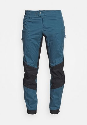 DIRT ROAMER STORM PANTS - Pantalon classique - crater blue