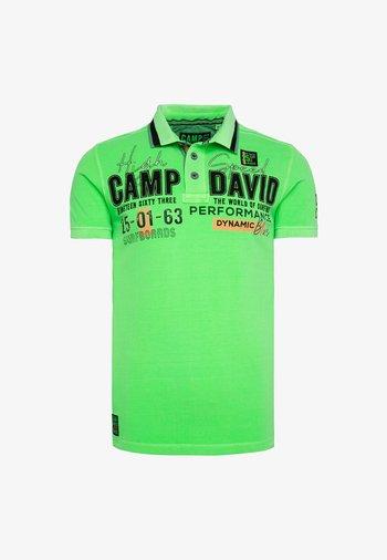 Polo shirt - tech green