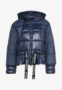 Pinko - TELA - Winter jacket - blue dipinto - 5