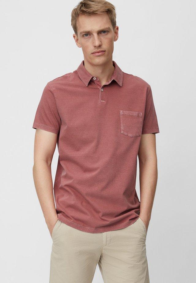 Polo shirt - baroque rose