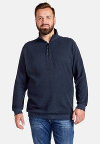 LERROS - Sweatshirt - navy - 0