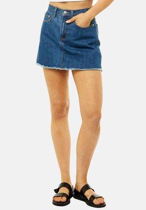 Denim skirt - royal blue