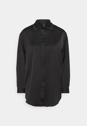 YASTERESA LONG - Button-down blouse - black