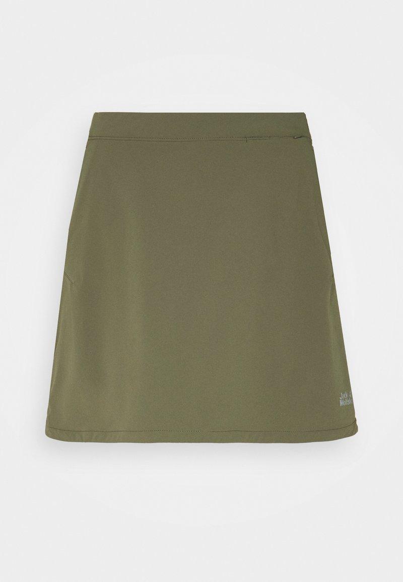 Jack Wolfskin - HILLTOP TRAIL SKORT  - Sports skirt - grape leaf