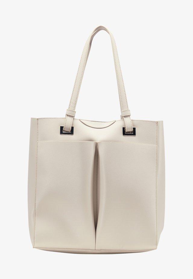 WHITE LABEL - Kabelka - light grey