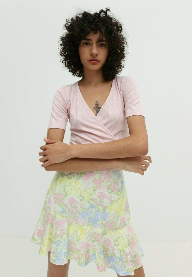 LEIA - Print T-shirt - rosé