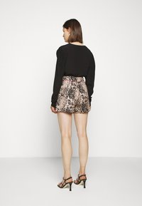 J.CREW - LEOPARD SAILCLOTH - Shorts - ashen black