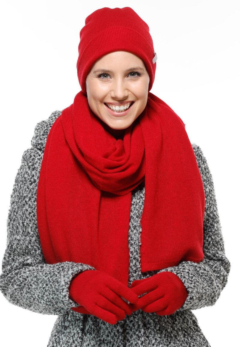 Fraas - Gloves - red