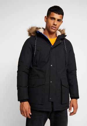 JOREXPLORE - Winter coat - black/solid