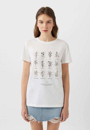 02641521 - T-shirt con stampa - white