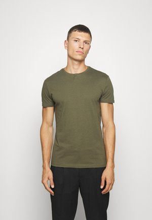 T-shirt basic - oliv