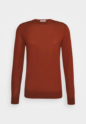 NICHOLS - Jumper - rust red