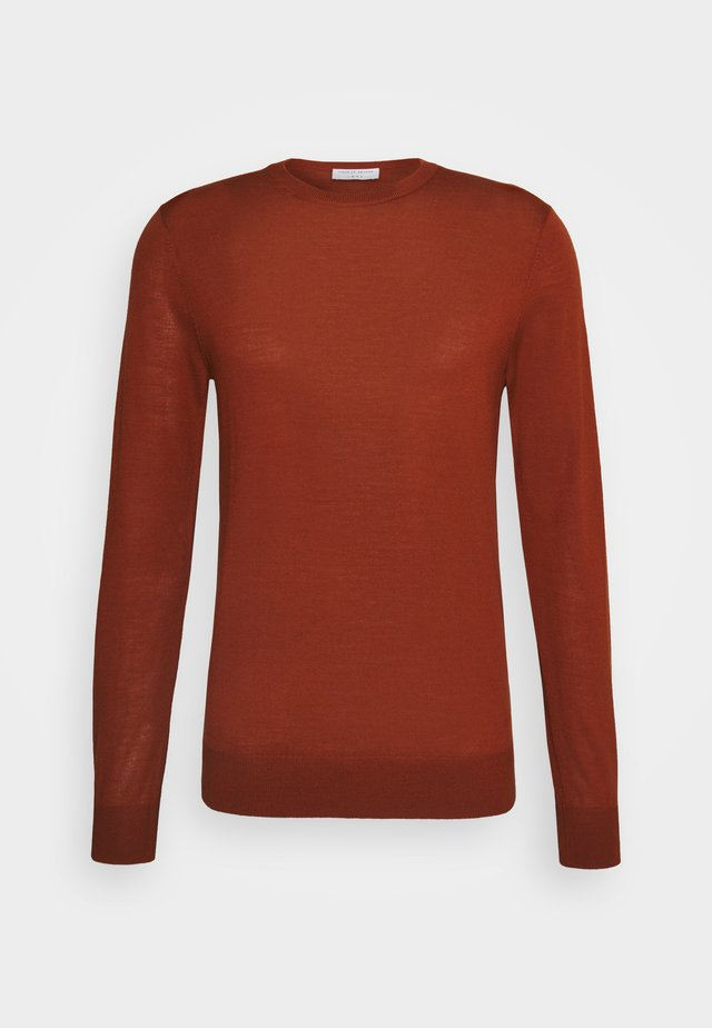 NICHOLS - Pullover - rust red