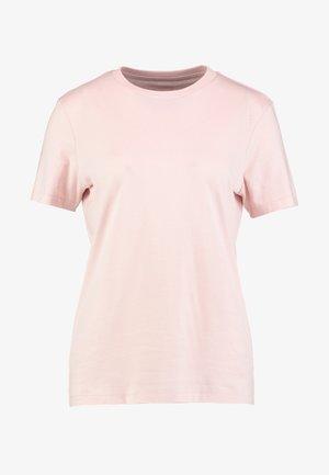 SFMY PERFECT TEE BOX CUT COLOR - T-shirts - sepia rose
