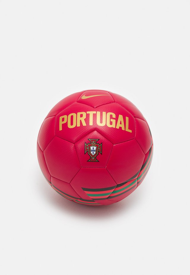 PORTUGAL UNISEX - Voetbal - gym red/black/metallic gold
