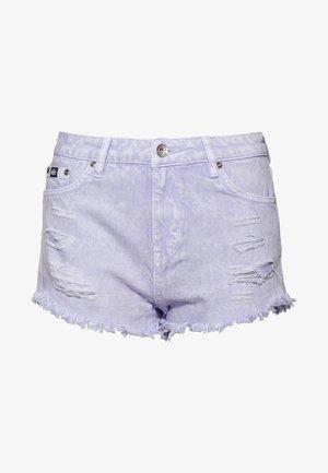 ELIZA - Denim shorts - purple