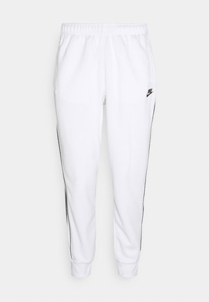 REPEAT - Pantalon de survêtement - white/black