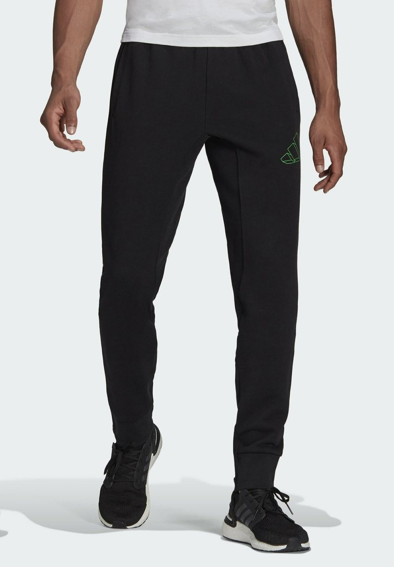 adidas Originals - GRAPHIC - Træningsbukser - black