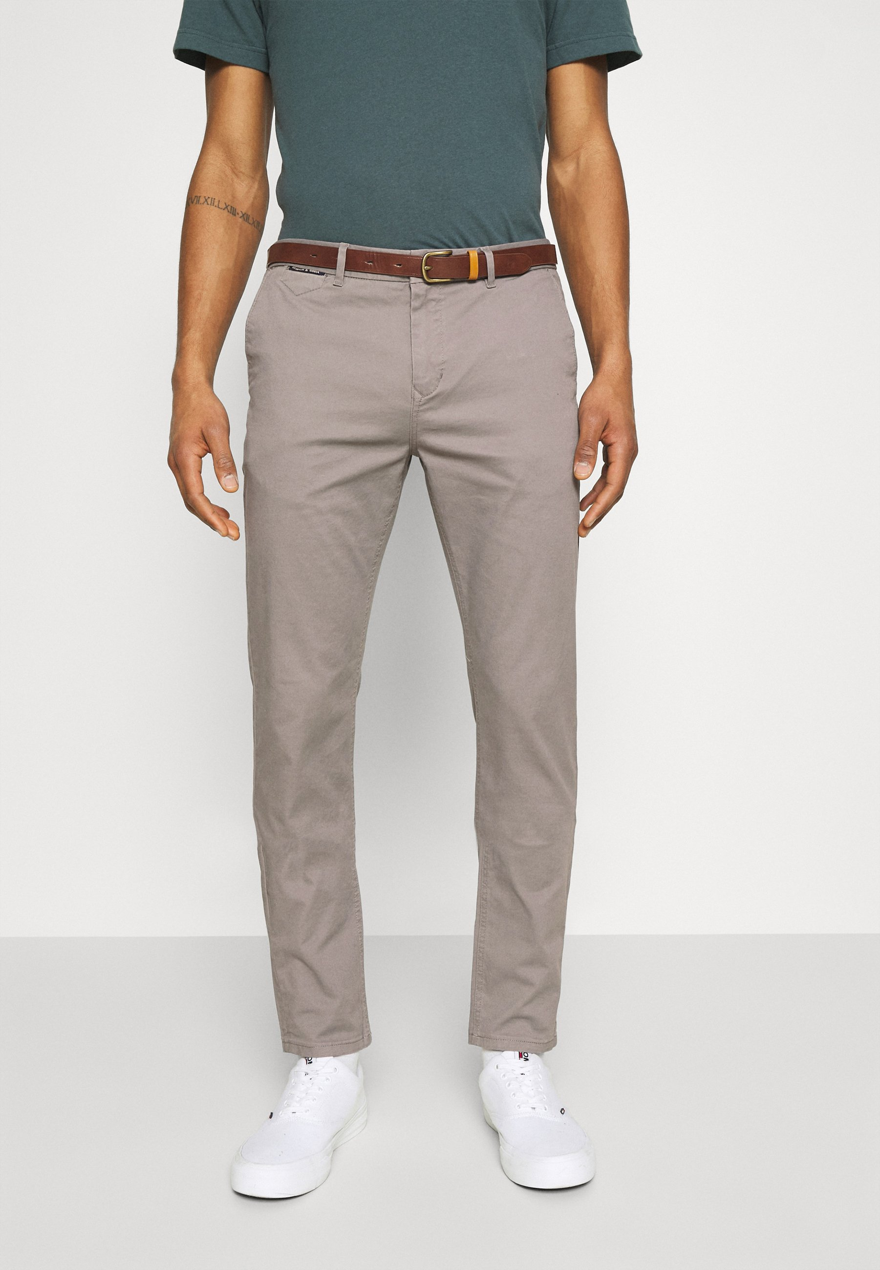 Men NEW BELTED  - Chinos