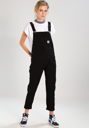W BIB OVERALL HURON - Dungarees - black rinsed