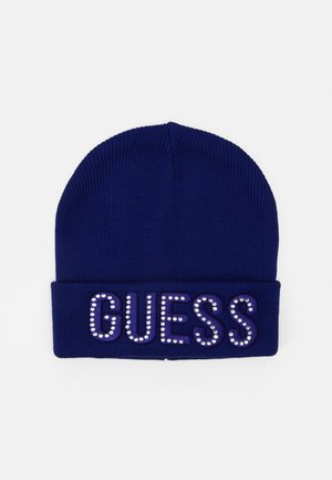 HAT WITH LOGO - Beanie - jewel blue