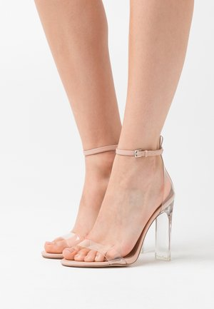 ASERANIA - High heeled sandals - bone