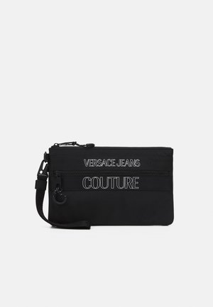 UNISEX - Across body bag - black
