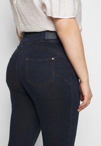Simply Be - SHAPE SCULPT SUPER HIGH WAIST  - Jeans Skinny Fit - dark indigo - 5