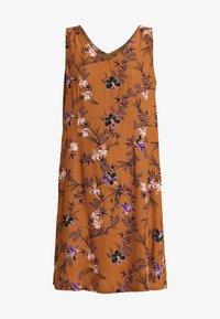 VIVIAN SLEEVELESS DRESS - Denní šaty - bronzed