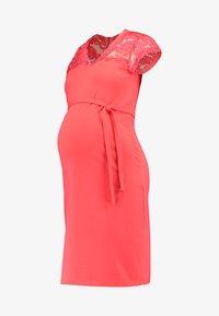 MLBLACKIE MIVANA CAP DRESS - Pouzdrové šaty - dubarry