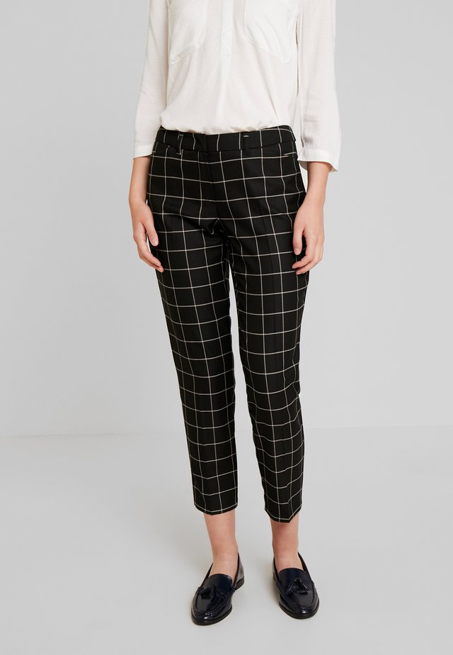 HOSE FREIZEIT - Trousers - black