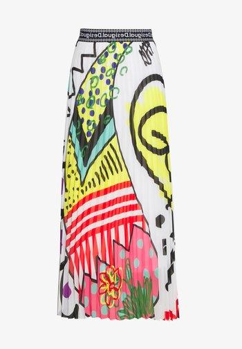 Falda larga - multi-coloured