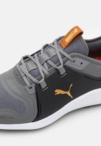 Puma Golf - IGNITE FASTEN8 - Golf shoes - quiet shade/gold/black - 5