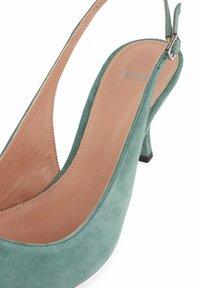 BOSS - OLIVIA SLING - Slingback ballet pumps - light green - 7