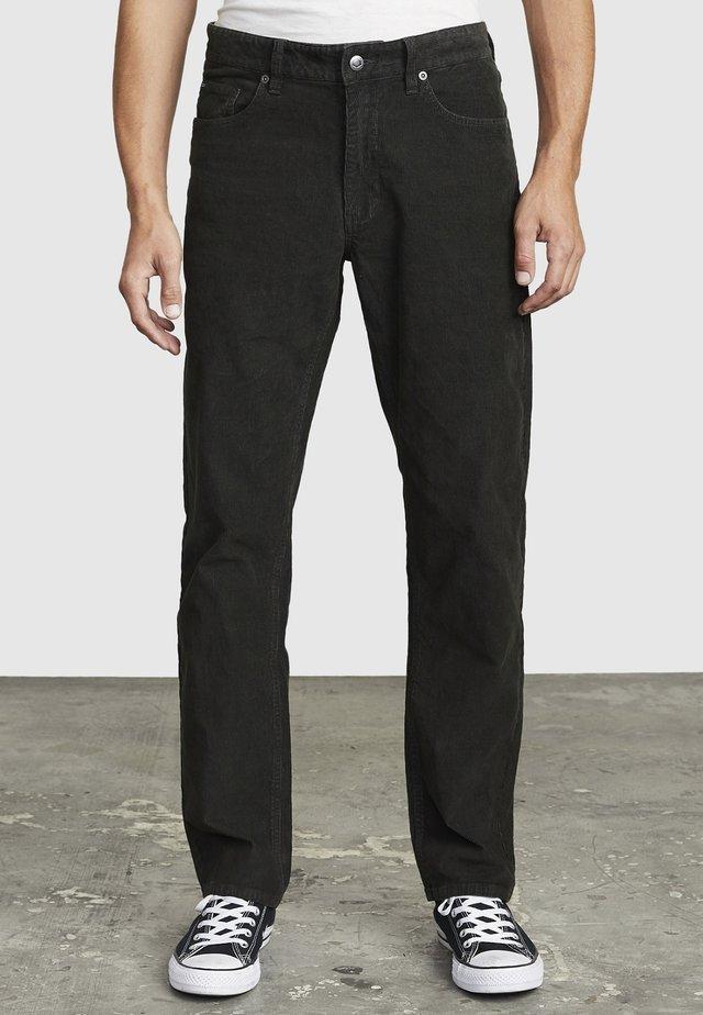 DAGGERS PIGMENT - Pantalon classique - pirate black