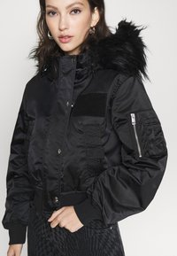 Diesel - SAMOEI JACKET - Light jacket - black - 4