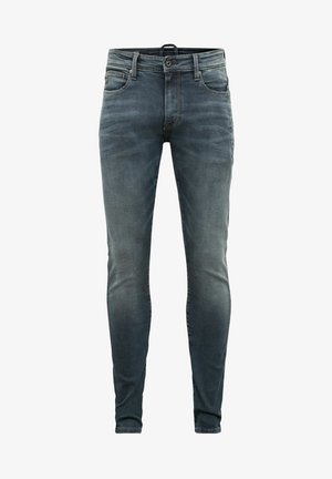 LANCET SKINNY - Skinny-Farkut - elto novo superstretch - worn in smokey night