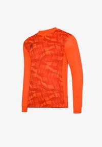 Umbro - Long sleeved top - orangeschwarz - 0
