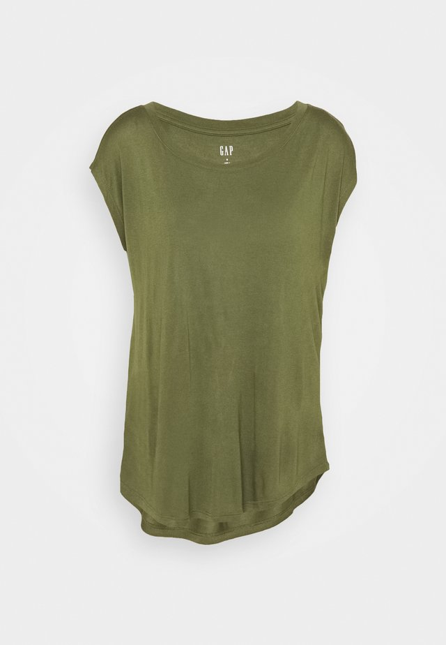 LUXE - T-shirt basic - army jacket green